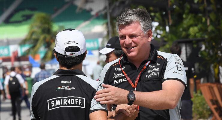 Otmar Szafnauer - Force India - GP Malaysia 2016