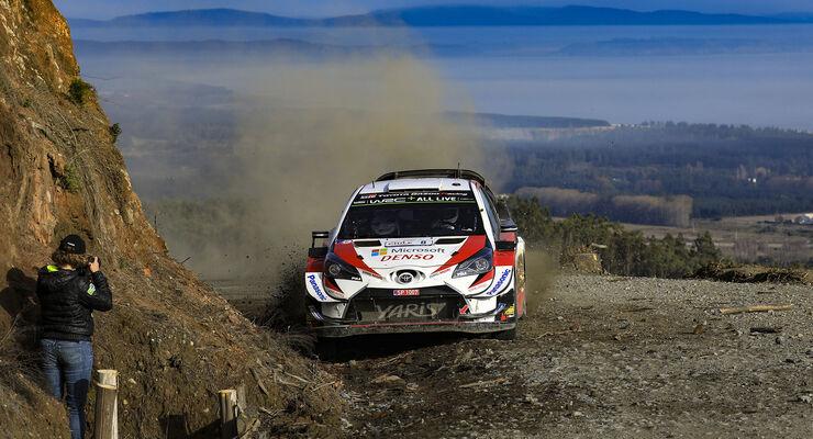 Ott Tänak - Toyota - Rallye-WM - Chile 2019