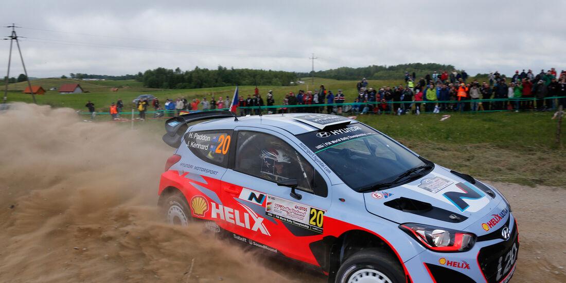 Paddon - Rallye Polen 2014