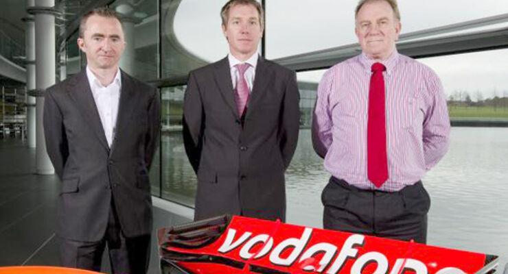Paddy Lowe, Tim Goss & Neil Oatley