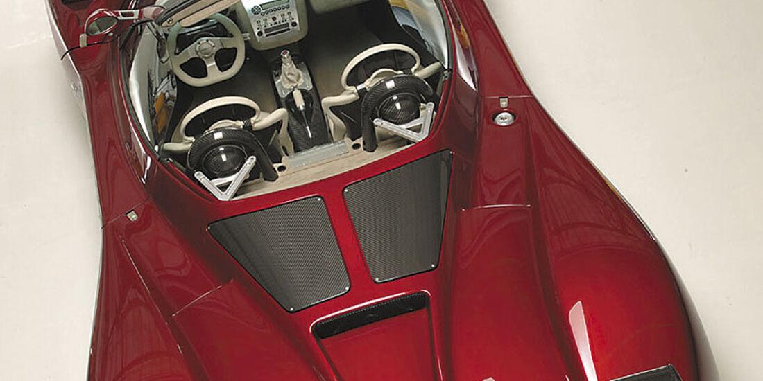 Pagani Zonda Roadster, Horacio Pagani