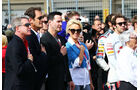 Pamela Anderson - Keanu Reeves - Formel 1 - GP USA - 2. November 2014
