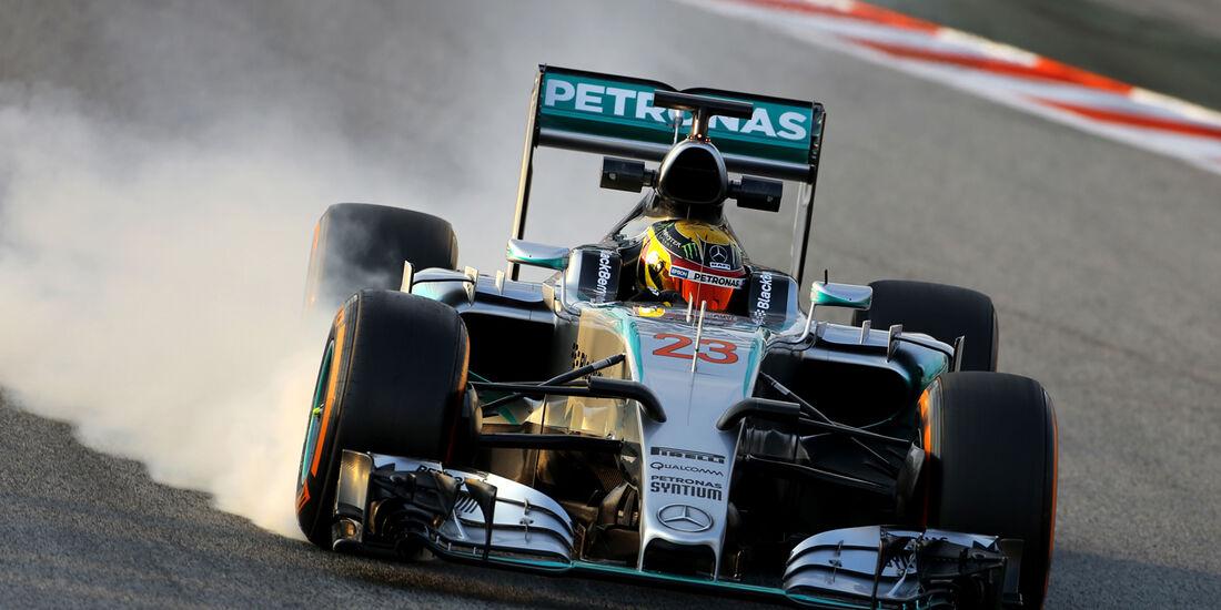 Pascal Wehrlein - F1-Test Barcelona - 2015