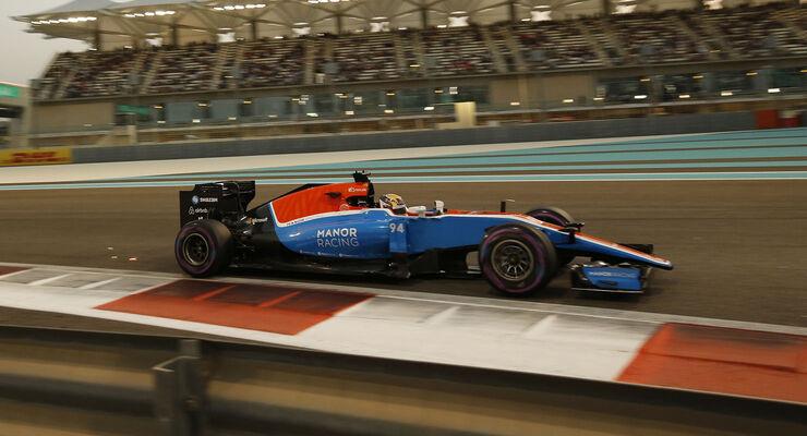 Pascal Wehrlein - GP Abu Dhabi 2016