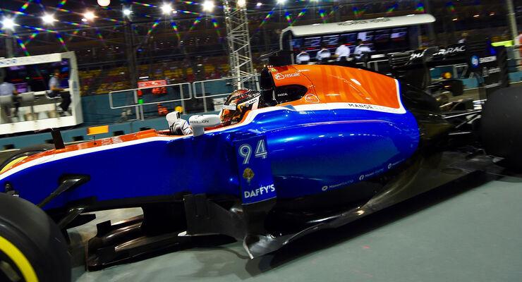 Pascal Wehrlein - GP Singapur 2017