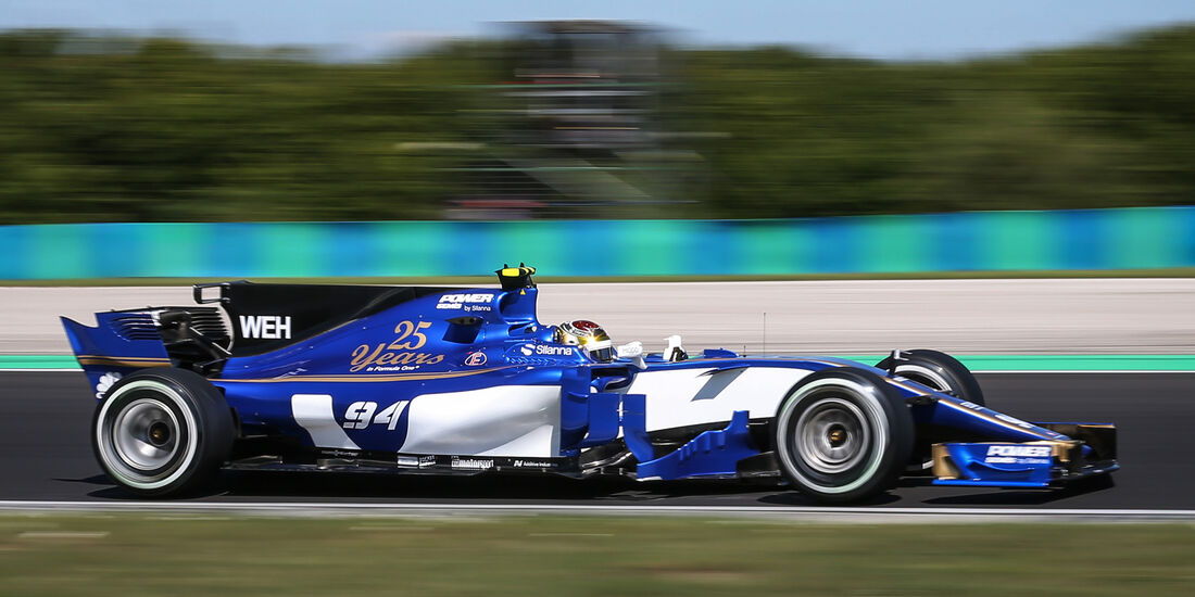 Pascal Wehrlein - GP Ungarn 2017