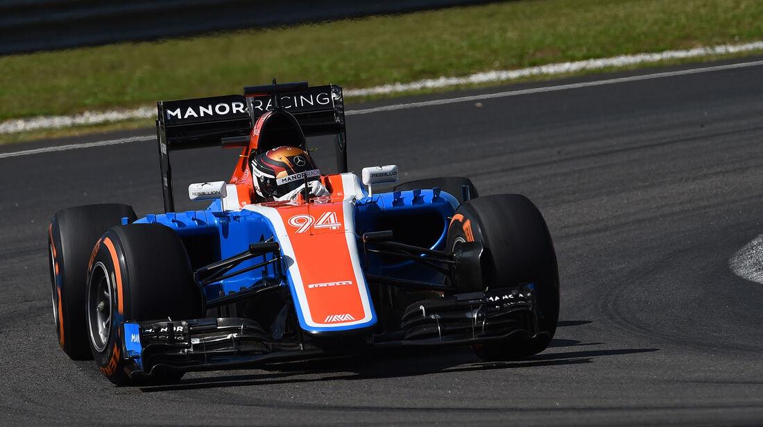 Pascal Wehrlein - Manor -  Formel 1 - GP Malaysia - Freitag - 30.9.2016