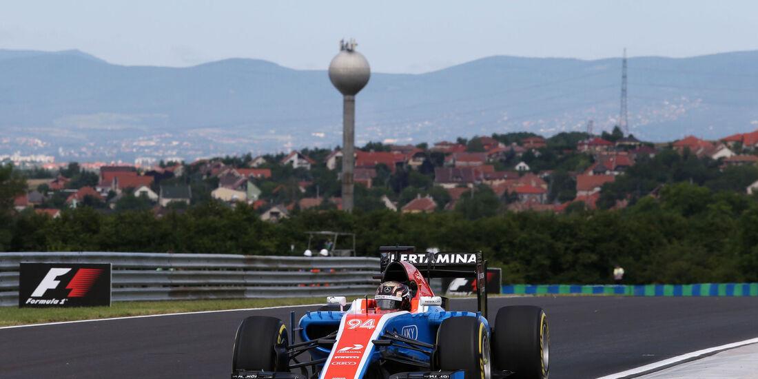 Pascal Wehrlein - Manor - Formel 1 - GP Ungarn - 22. Juli 2016