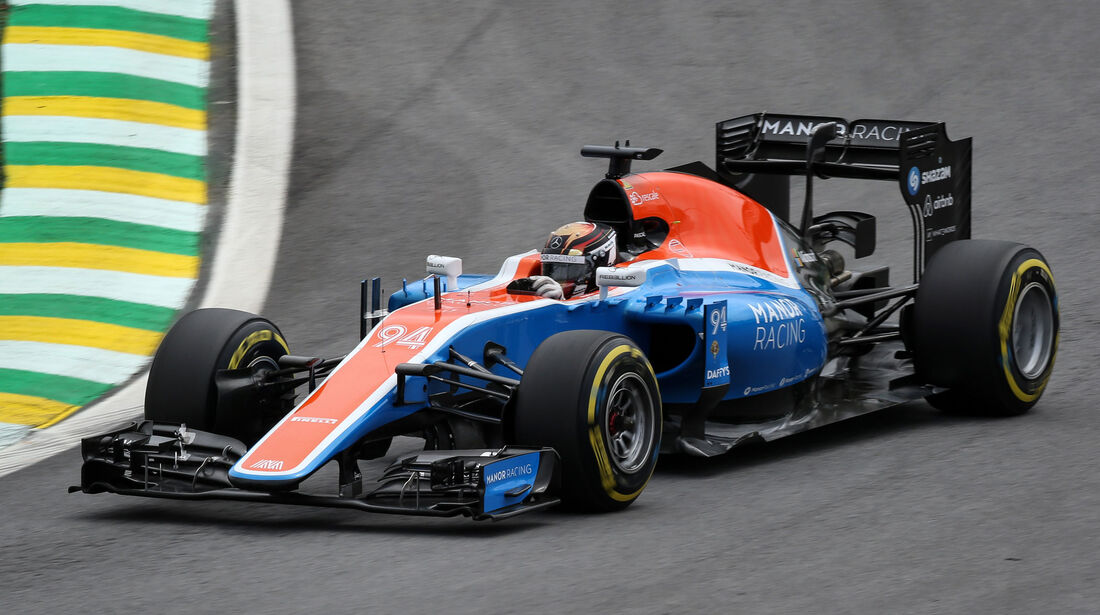 Pascal Wehrlein - Manor - GP Brasilien 2016 - Interlagos - Qualifying