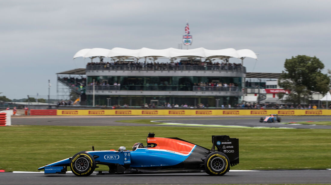 Pascal Wehrlein - Manor - GP England - Silverstone - Qualifying - Samstag - 9.7.2016
