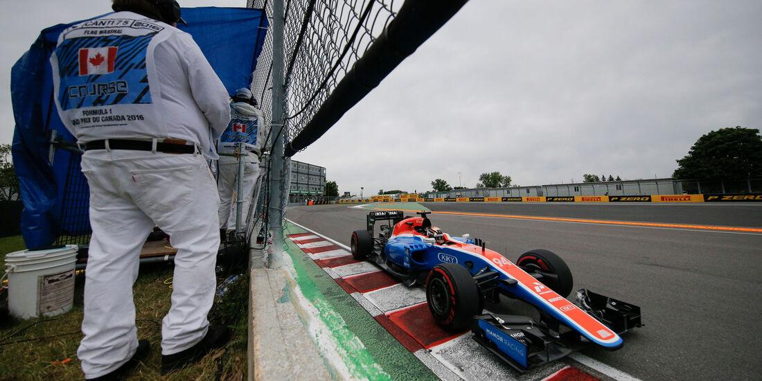 Pascal Wehrlein - Manor - GP Kanada 2016 - Montreal - Qualifying