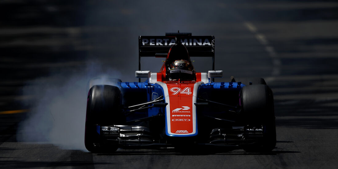 Pascal Wehrlein - Manor - GP Monaco - Formel 1 - 28. Mai 2016