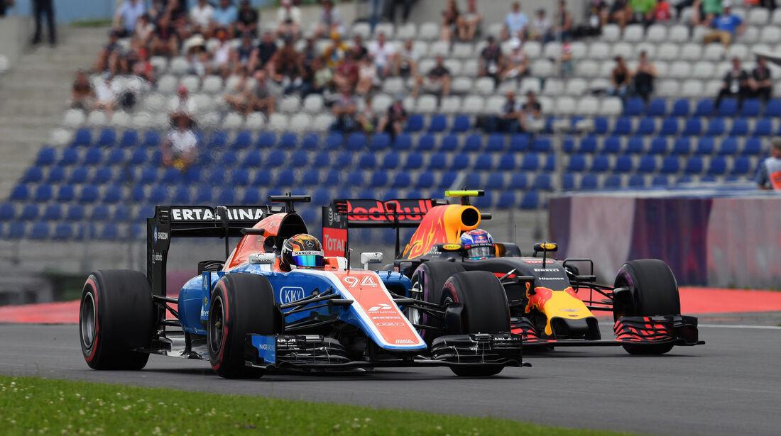 Pascal Wehrlein - Max Verstappen  - Formel 1 - GP Österreich - 2. Juli 2016