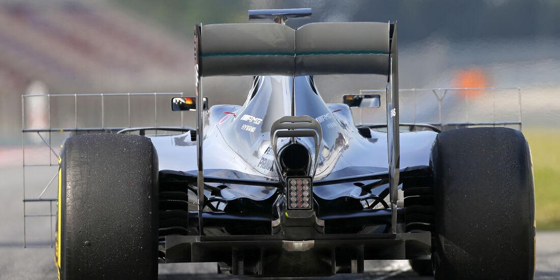 Pascal Wehrlein - Mercedes - Barcelona Test 2 - 18. Mai 2016