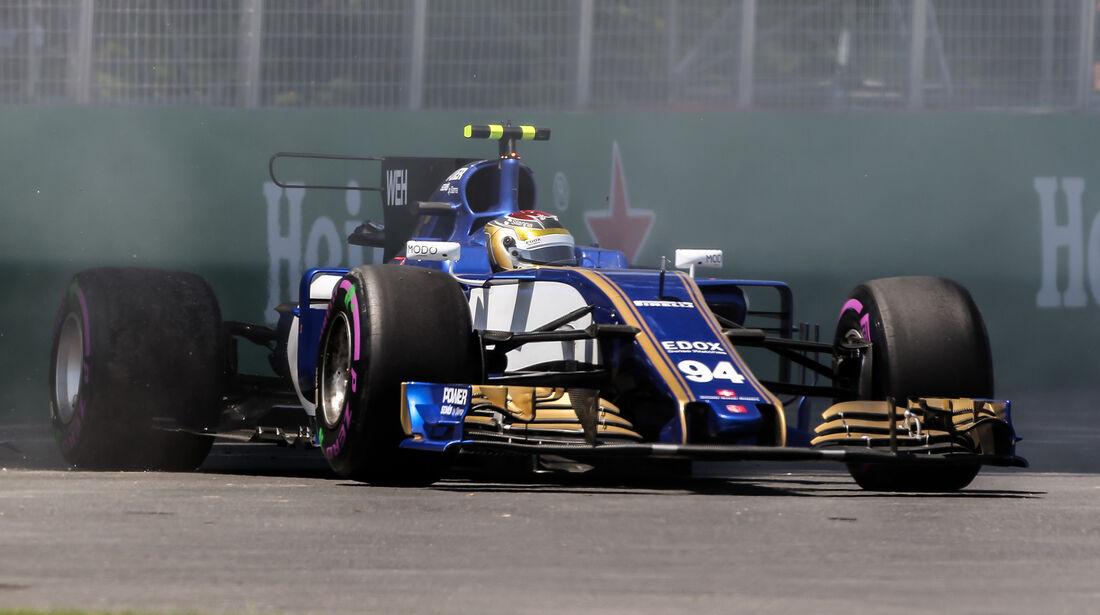 Pascal Wehrlein - Sauber - Formel 1 - GP Kanada - Montreal - 10. Juni 2017