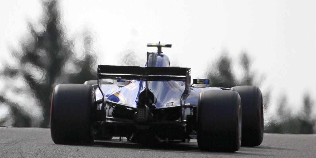 Pascal Wehrlein - Sauber - GP Belgien - Spa-Francorchamps - Formel 1 - 25. August 2017