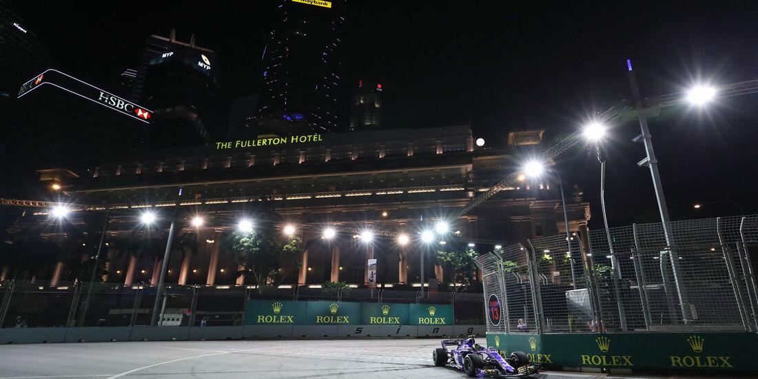 Pascal Wehrlein - Sauber - GP Singapur - Qualifying