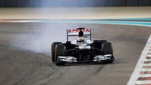 Pastor Maldonado - GP Abu Dhabi 2013