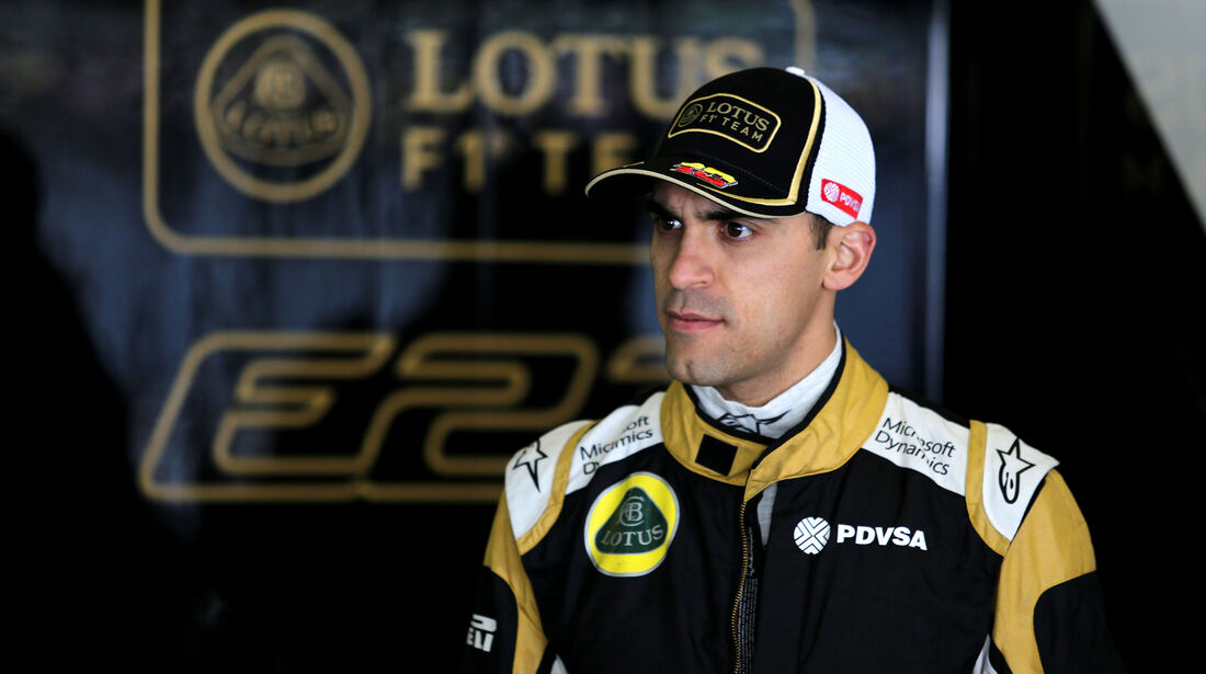 Pastor Maldonado - Lotus - Formel 1 - GP China - Shanghai - 10. April 2015