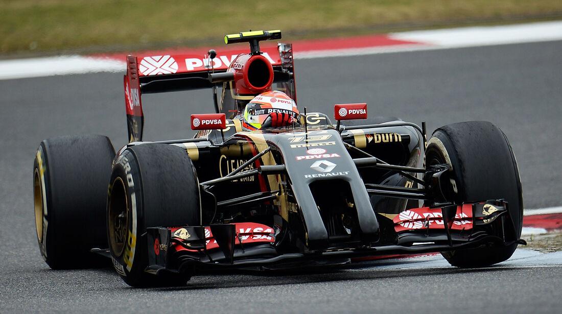 Pastor Maldonado - Lotus - Formel 1 - GP China - Shanghai - 18. April 2014