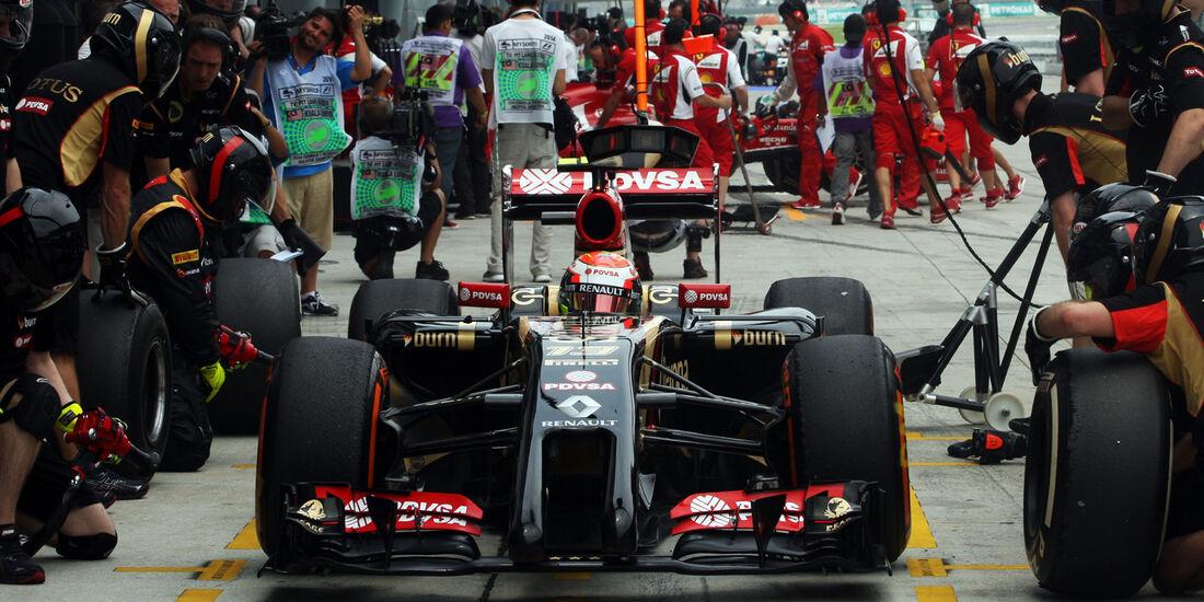 Pastor Maldonado - Lotus - Formel 1 - GP Malaysia - Sepang - 29. März 2014