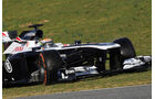 Pastor Maldonado Williams F1 Test Barcelona 2013
