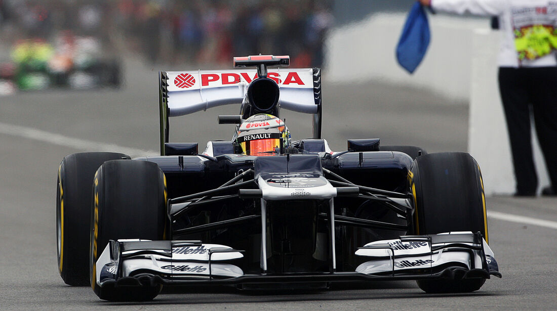 Pastor Maldonado - Williams - Formel 1 - GP Kanada 2012 - 8. Juni 2012