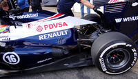 Pastor Maldonado - Williams - Formel 1 - Test - Barcelona - 19. Februar 2013