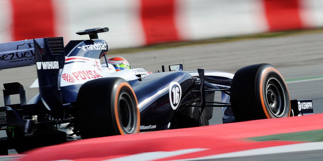 Pastor Maldonado - Williams - Formel 1 - Test - Barcelona - 2. März 2013