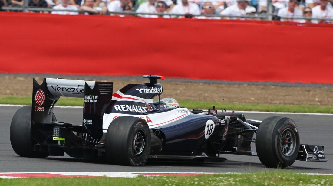 Pastor Maldonado Williams GP England 2012