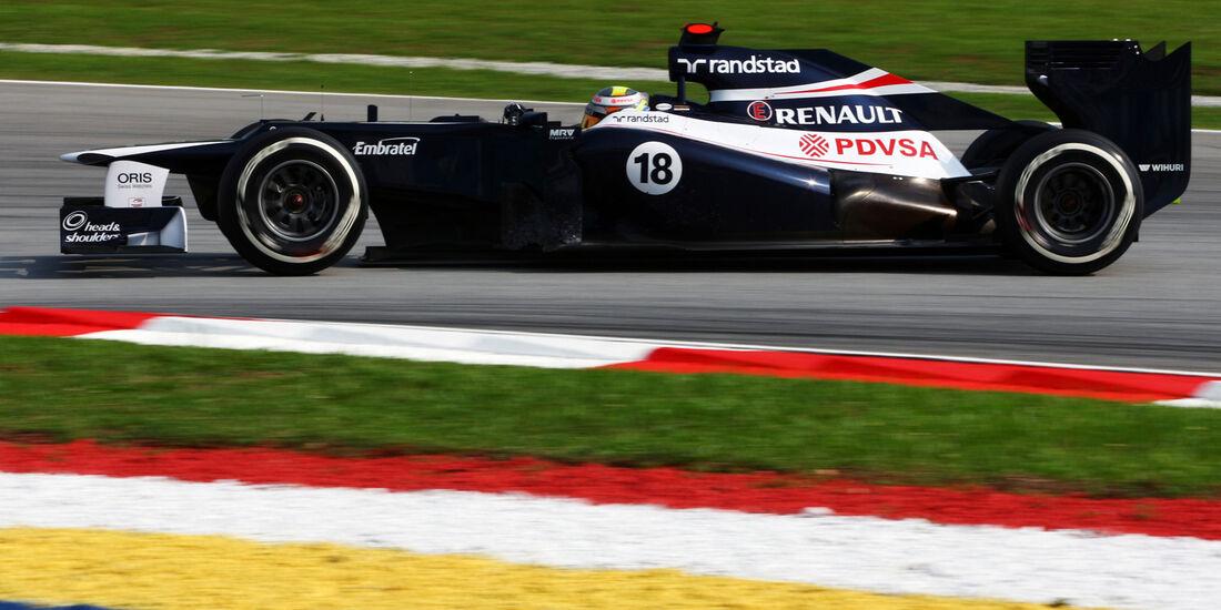 Pastor Maldonado - Williams - GP Malaysia 2012