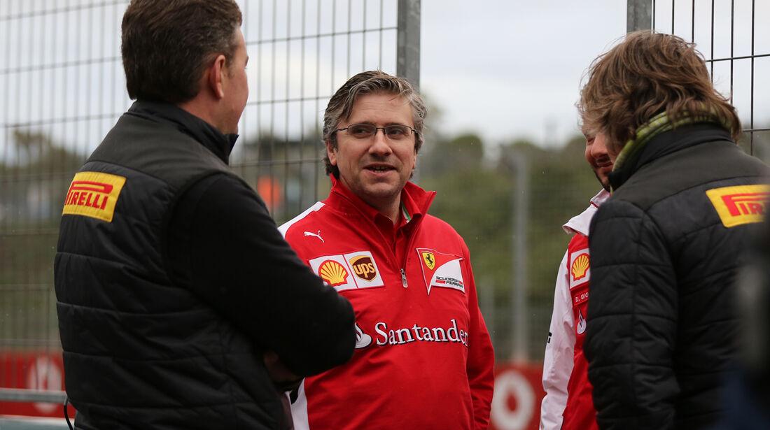 Pat Fry - Ferrari - Formel 1 - Test - Jerez - 29. Januar 2014