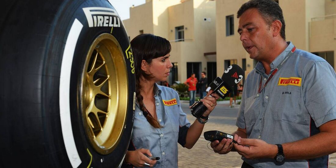 Paul Hembery Pirelli - Formel 1 - GP Abu Dhabi - 01. November 2012