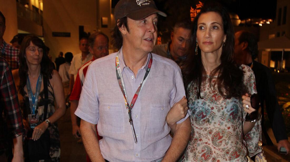 Paul McCartney - GP Abu Dhabi - Qualifying - 12.11.2011