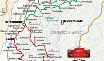 Paul Pietsch Classic 2017 - Route