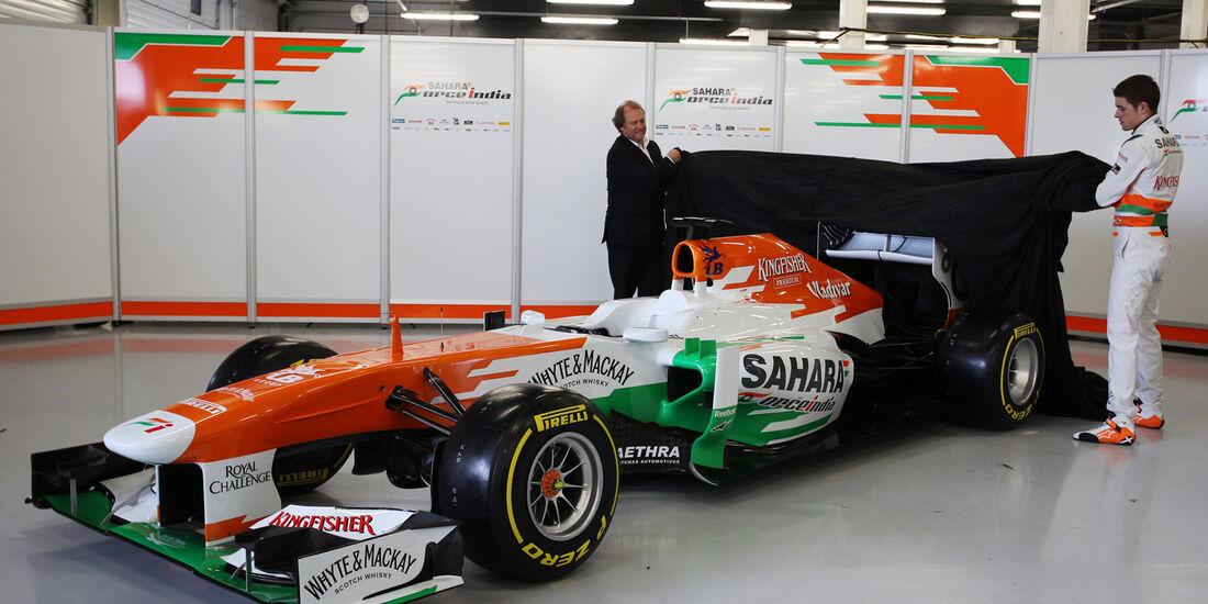 Paul di Resta F1 Force India VJM06 2013