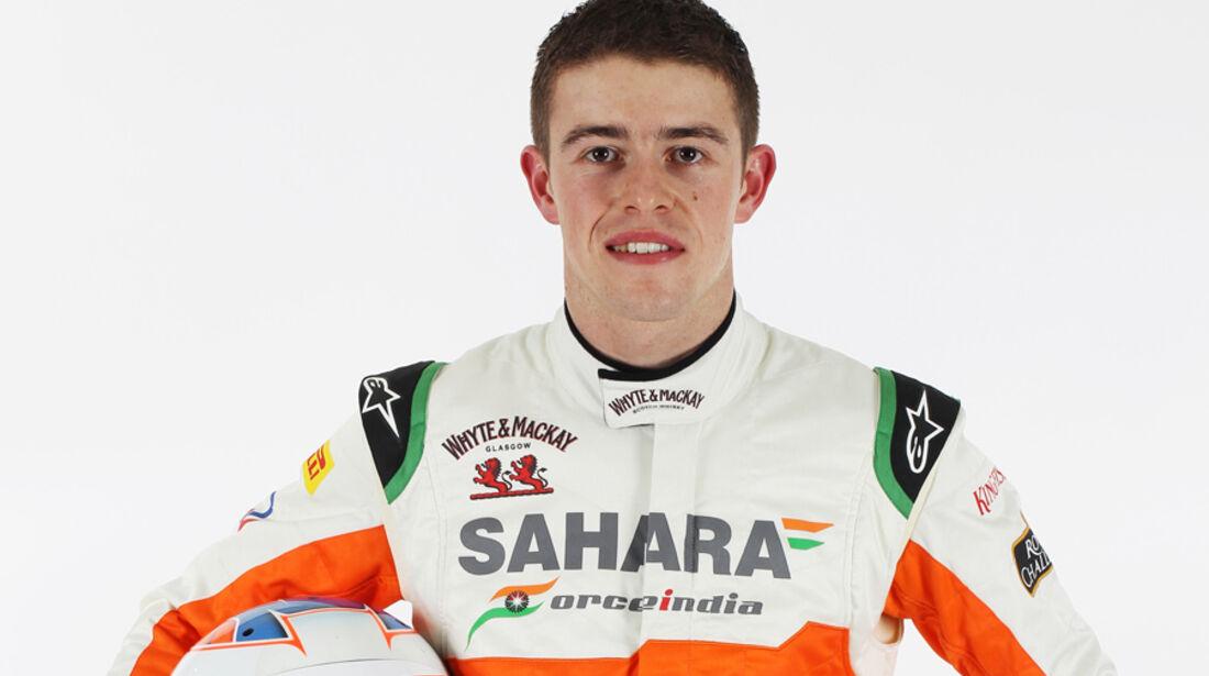 Paul di Resta Force India 2012