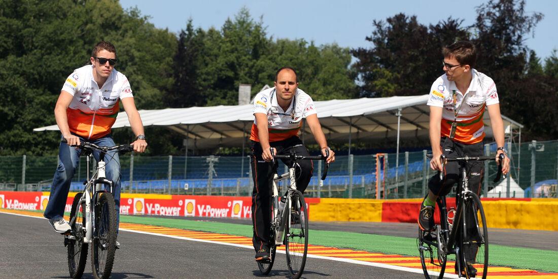 Paul di Resta - Force India - Formel 1 - GP Belgien - Spa-Francorchamps - 22. August 2013