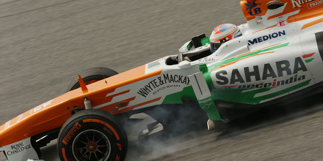 Paul di Resta - Force India - Formel 1 - GP Malaysia - 22. März 2013
