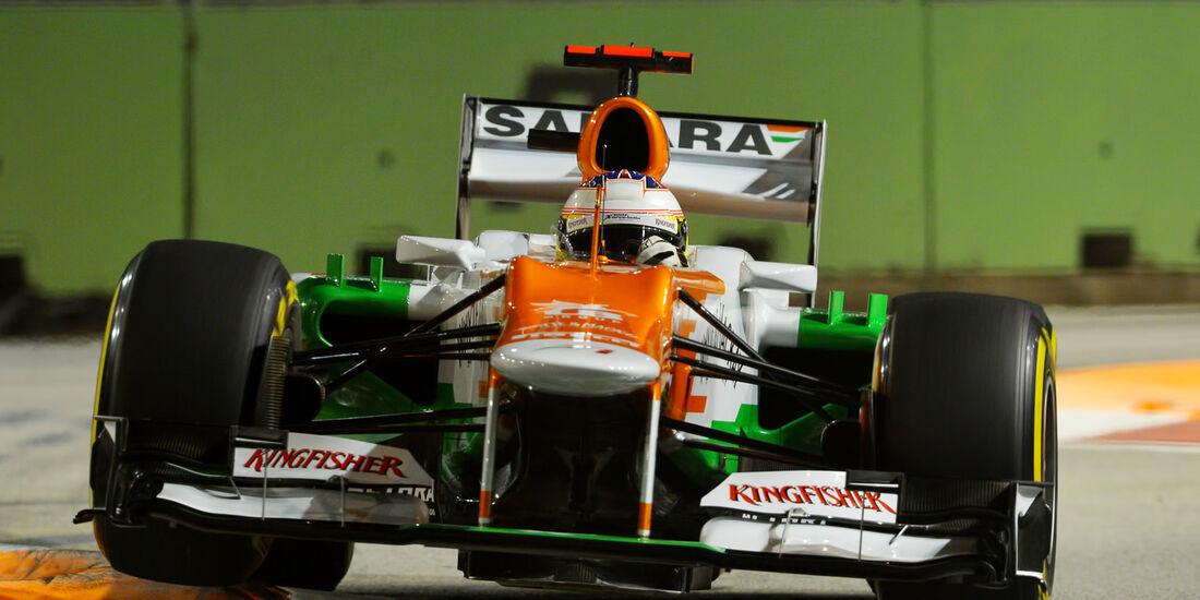 Paul di Resta - Force India - Formel 1 - GP Singapur - 22. September 2012