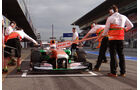 Paul di Resta - Force India - Formel 1 - Test - Barcelona - 19. Februar 2013