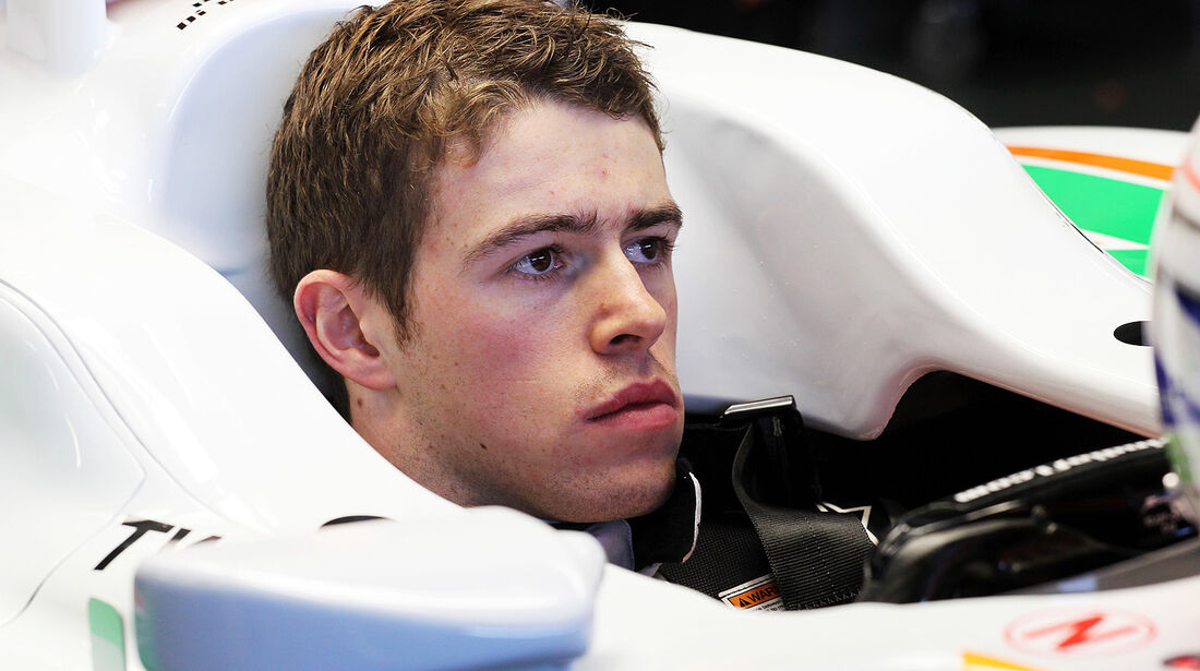 Paul di Resta, Force India, Formel 1-Test, Jerez, 5.2.2013