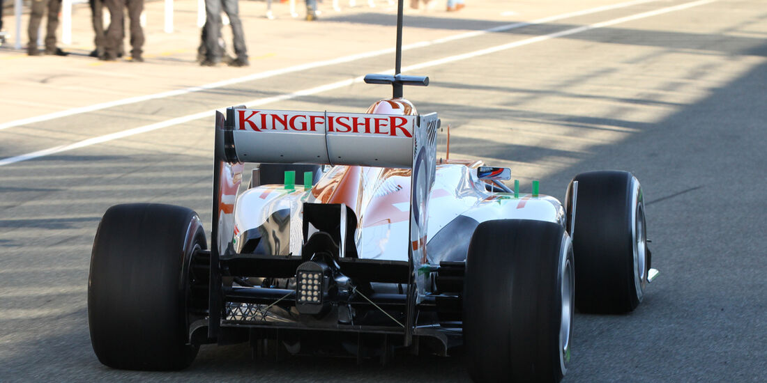Paul di Resta - Force India - Formel 1 - Test - Jerez - 5. Februar 2013