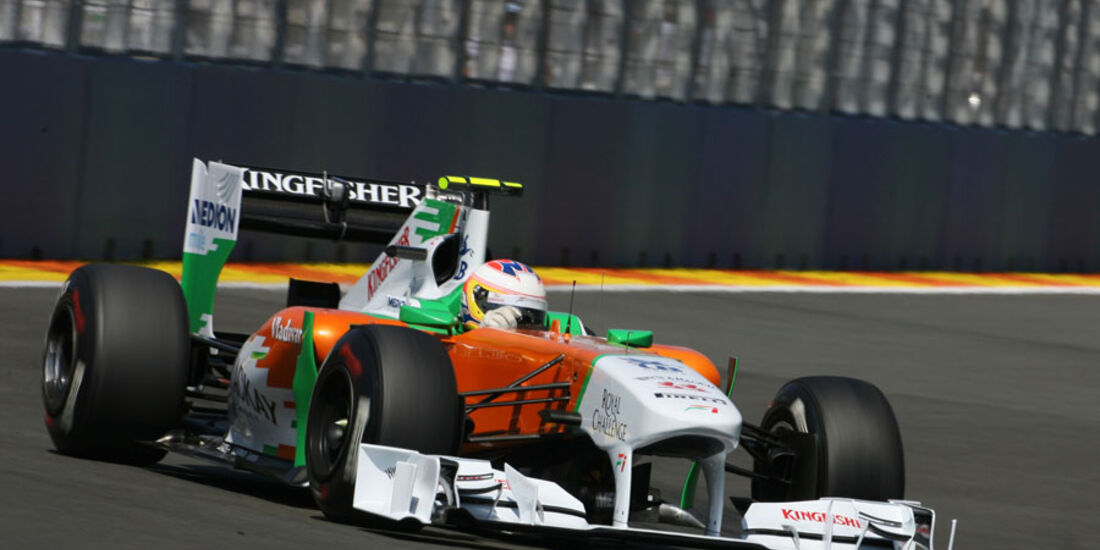 Paul di Resta - GP Europa - Qualifying - 25. Juni 2011