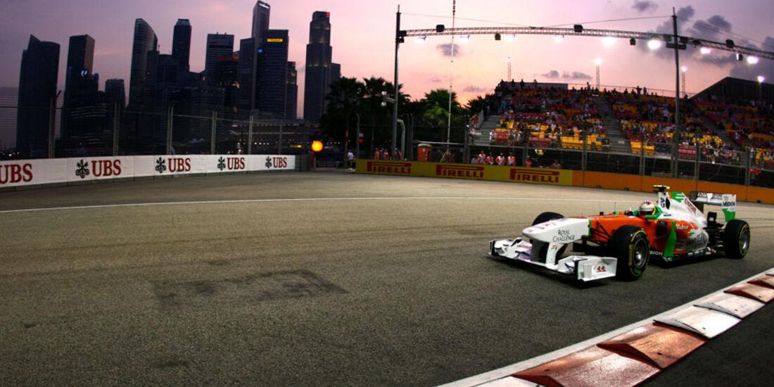 Paul di Resta - GP Singapur - 23. September 2011