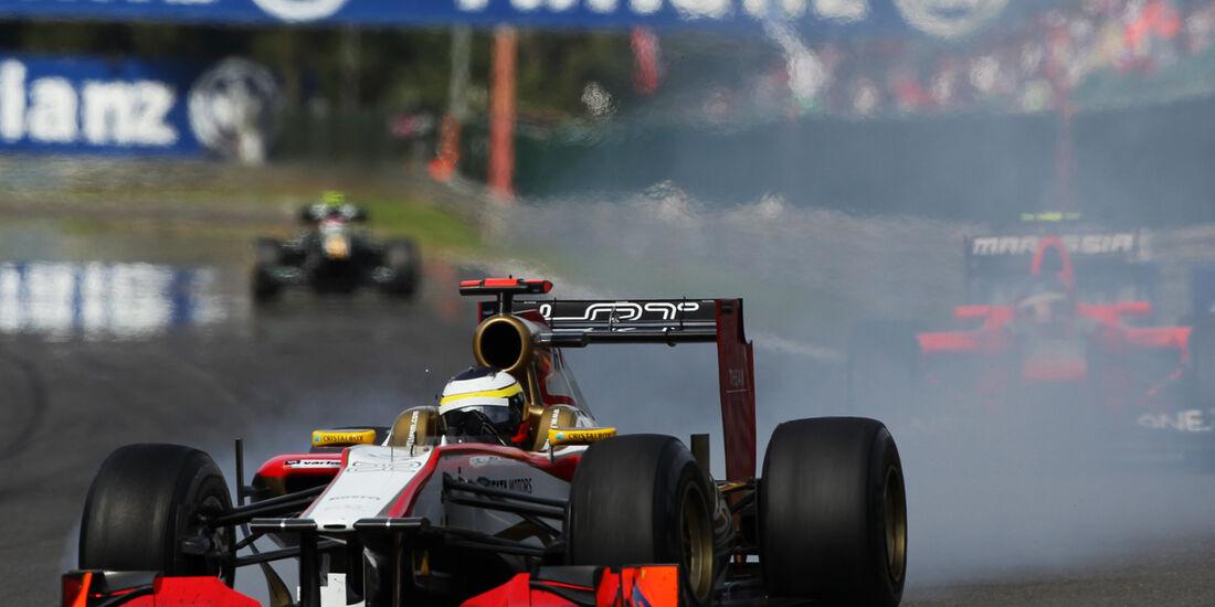 Pedro de la Rosa GP Belgien 2012