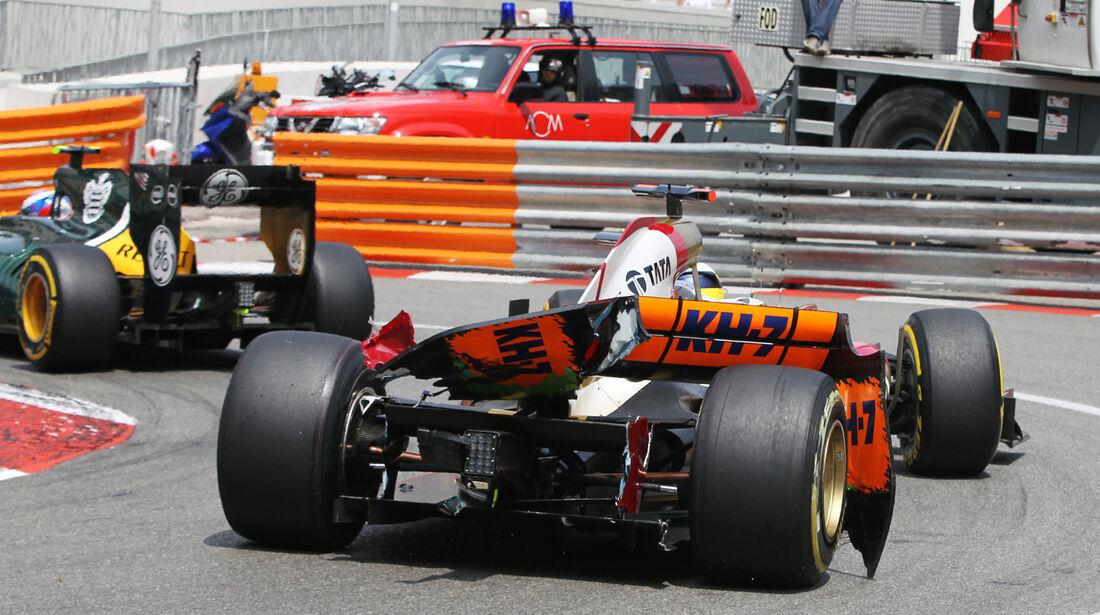 Pedro de la Rosa - GP Monaco 2012
