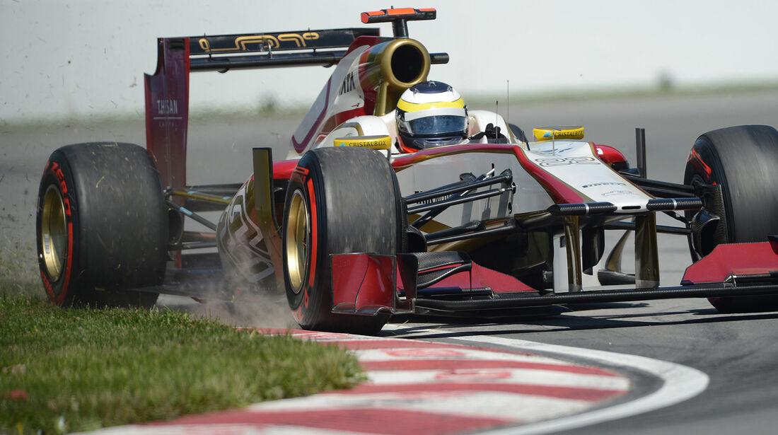 Pedro de la Rosa - HRT - Formel 1 - GP Kanada - 10. Juni 2012