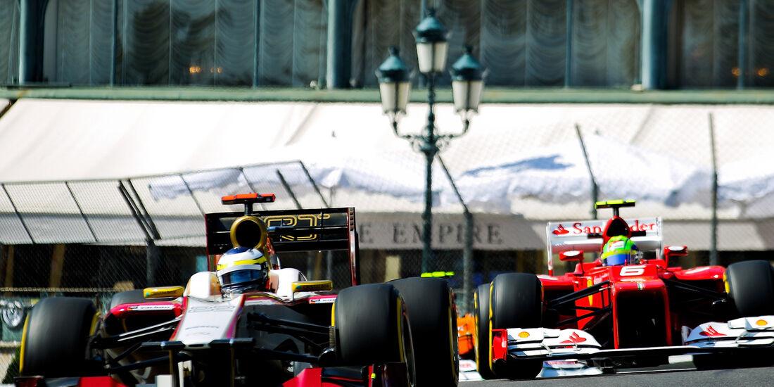 Pedro de la Rosa - HRT - Formel 1 - GP Monado - 24.Mai