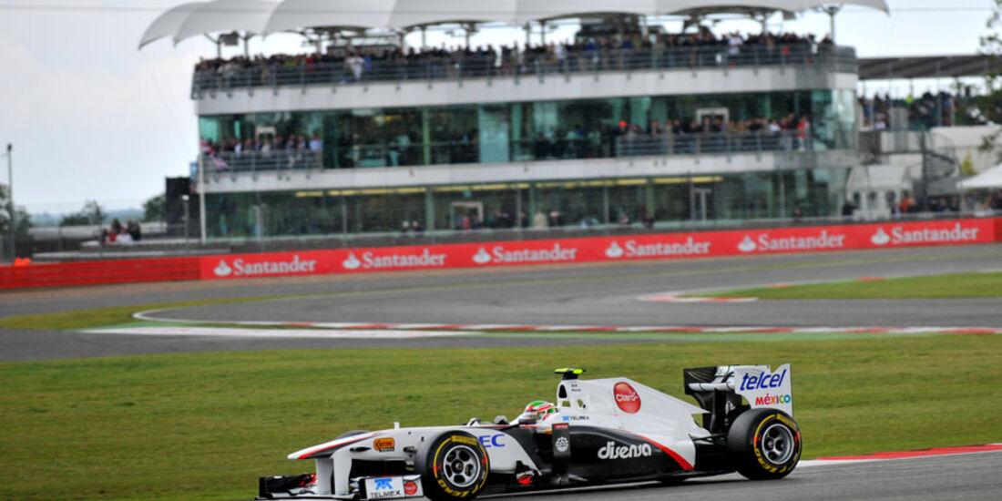 Perez - GP England - Qualifying - 9. Juli 2011